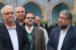 ادای احترام رئیس دانشگاه پیام نور به مقام شامخ شهدای هویزه