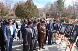 رونمایی از دیوار نگاری دانشجویان رشته نقاشی دانشگاه پیام نور مرکز شهرکرد