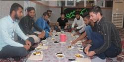 ضیافت افطاری دانشجویان خوابگاه دانشگاه پیام نور ابوموسی