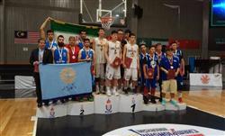 تیم بسکتبال سه نفره دانشگاه پیام نور نایب قهرمان آسیا شد